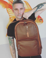 VILLAGE Leather Backpack