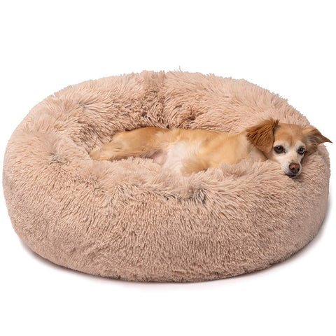 Comfy CALMING DOG/CAT BED | Toolsneeds.com