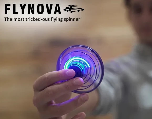 FlyNova: The most tricked-out flying spinner
