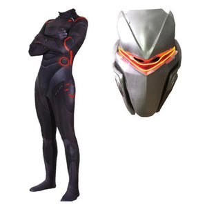 Fortnite Omega Costume With Or Without Mask Battle Royale