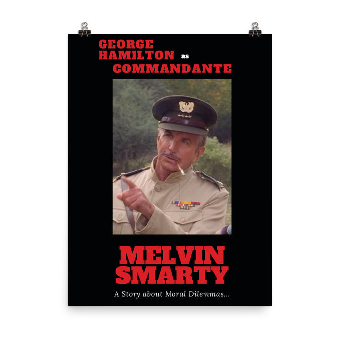 George Hamilton as Commandante Poster