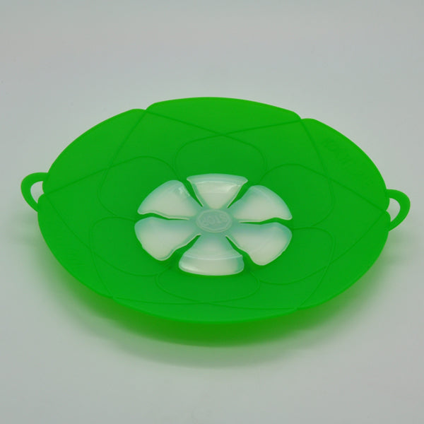 Kitchen Gadgets Silicone Lid Spill Stopper Pot Cover 28.5cm Diameter Cooking Pot Lids Utensil New Arrival