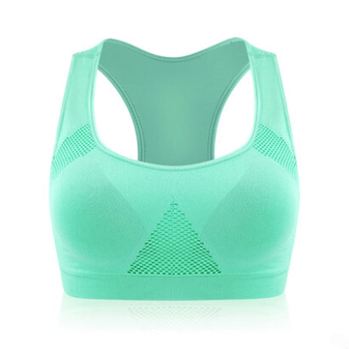 Gym Professional Absorb Sweat Top Athletic Running Sports Bra [5 Colors/3 sizes]