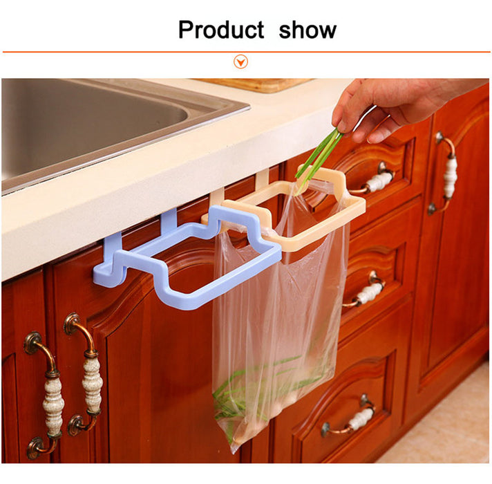 New Eco-friendly Kitchen Door Back Hanging Style Cabinet Stand Trash Garbage Bag