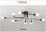 Modern LED Ceiling Chandelier Lighting Living Room Bedroom Chandeliers Creative Home Lighting Fixtures