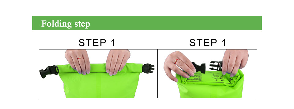 Outdoor Portable Rafting Dry Bag Sack Swimming Waterproof Storage River trekking  Bags for Canoe Rafting Upstream 5L 10L 15L 20L