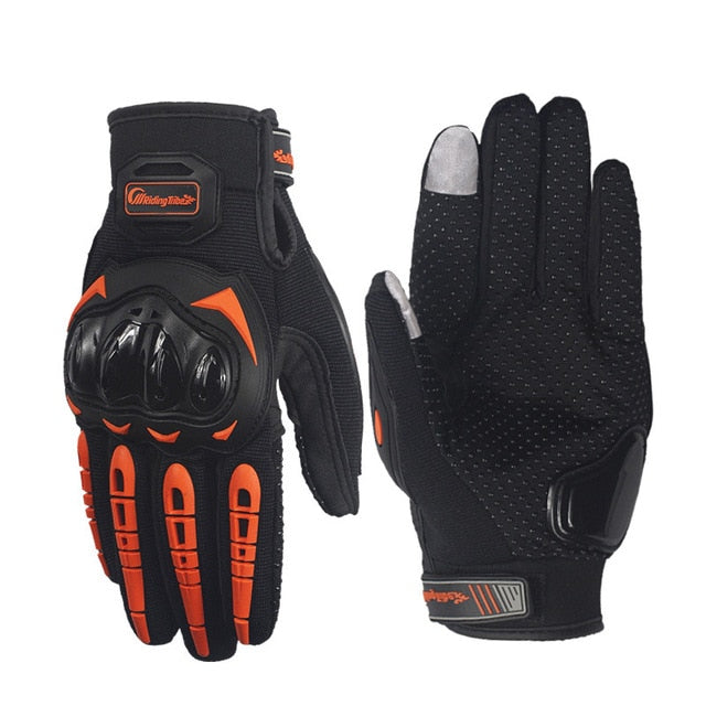 Motorcycle and Bicycle Riding Gloves Outdoor Wear-Resistant and Anti-Slip Breathable with Touchscreen  4 sizes
