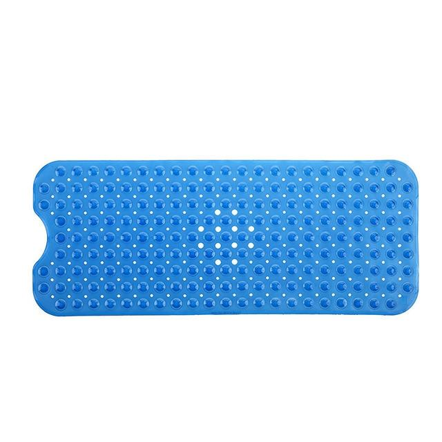 "Large Bathtub PVC Bath Mats Non-slip With Suction Cups 16""X 40"" With Suction Cups"