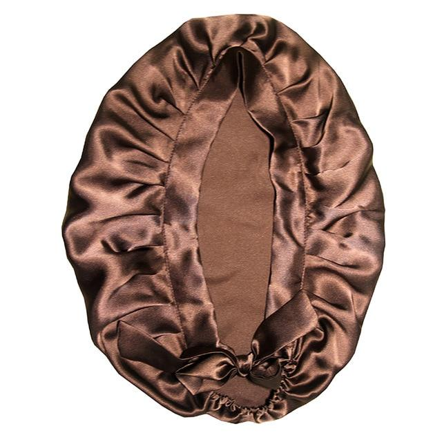 Women Pure Silk Sleep Wrap Night Hat one size fits all