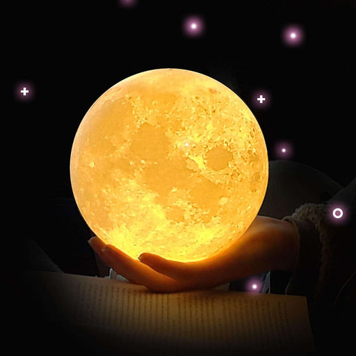 Moon 3D Lamp Rechargeable Night Lamp