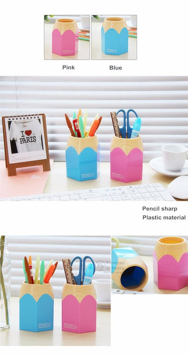 Desk organizer Pencil/Pen holder Storage office accessories for School supplies