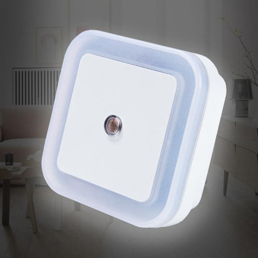Night Light - LED new design. White, Yellow, Blue, Red newest LED night light Control Auto Sensor Light For Home Indoor AC110V