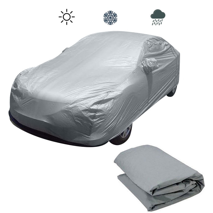 Hot Full Car Cover Water Resistant Sun UV Dust Snow Rain Protection Size XXL
