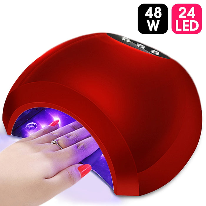 LED UV Lamp Gel Nail Lamp High Power For Nails All Gel Polish Nail Dryer Manicure Tools
