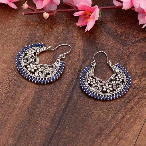 New Vintage Ethnic Geometric Alloy Dangling Earrings Women Fashion Jewelry