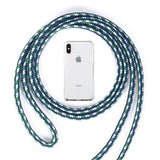 Strap Cord Chain Phone Cover for iPhone 7 8 11 pro XS Max XR X Necklace Lanyard Carry to hang For iPhone 7 8 plus 11 6S X Case