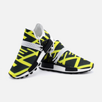 YELLOW, WHITE & BLACK | Unisex Lightweight Sneaker S-1