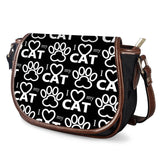 Gigi's Market Bags Cat Paw - Saddle Bags