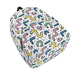 Gigi's Market Bags Gettin' Jiggy - All Over Print Cotton Backpack