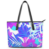 Gigi's Market Bags MEDIUM Summer Vibes - Leather Tote Bags