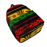 Gigi's Market Bags Rasta - All Over Print Cotton Backpack