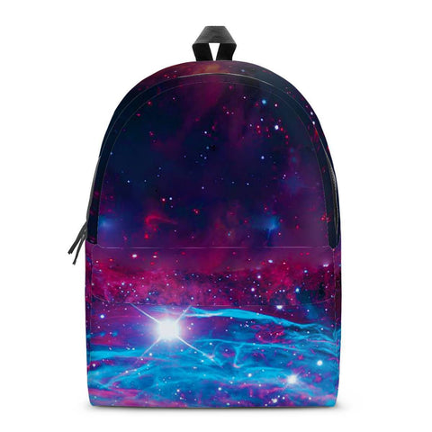Gigi's Market Bags SMALL Deep Space - All Over Print Cotton Backpack