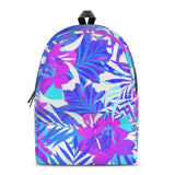 Gigi's Market Bags SMALL Summer Vibes - All Over Print Cotton Backpack