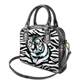 Gigi's Market Bags Stripes of Winter - Shoulder Handbags
