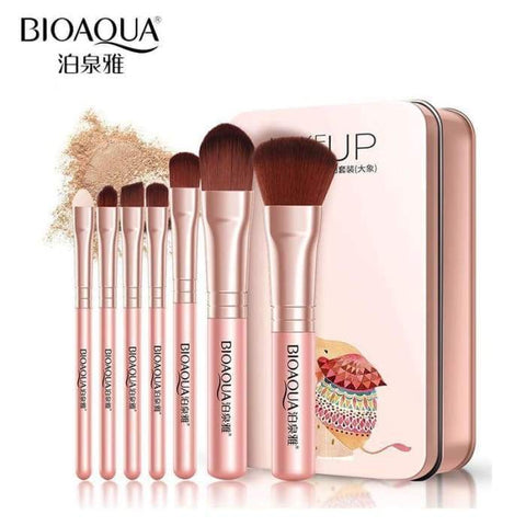 Gigi's Market BIOAQUA Brand Makeup Brushes Set Pro Soft Fiber Cosmetic Make Up Tools