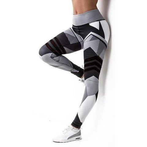Gigi's Market black / S Women Leggings High Elastic Leggings Printing Women Fitness Legging Push Up Pants Clothing Sporting Leggins