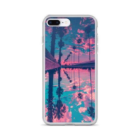 Gigi's Market iPhone 7 Plus/8 Plus iPhone Case | Palm Trees