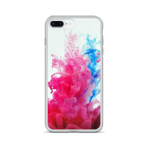 Gigi's Market iPhone 7 Plus/8 Plus iPhone Case | Pink & Blue Smoke