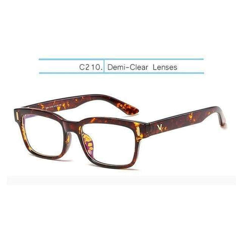 Gigi's Market, LLC Amber-Clear Computer Glasses | Anti Blue Rays | Gaming Glasses | Blue Light Blocking Lenses