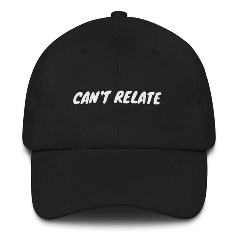 Gigi's Market, LLC Black CAN'T RELATE - Hat
