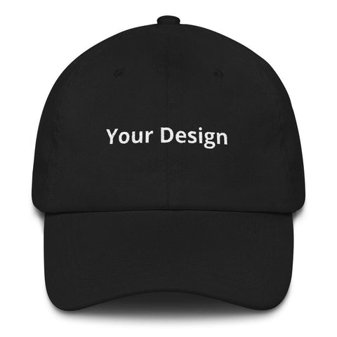 Gigi's Market, LLC Black Your Design Here hat