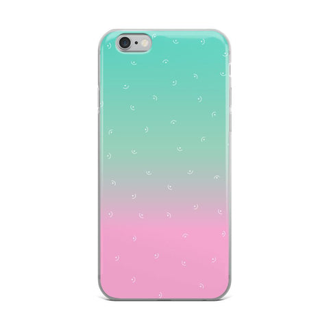 Gigi's Market, LLC iPhone 6 Plus/6s Plus iPhone Case | Mint & Pink