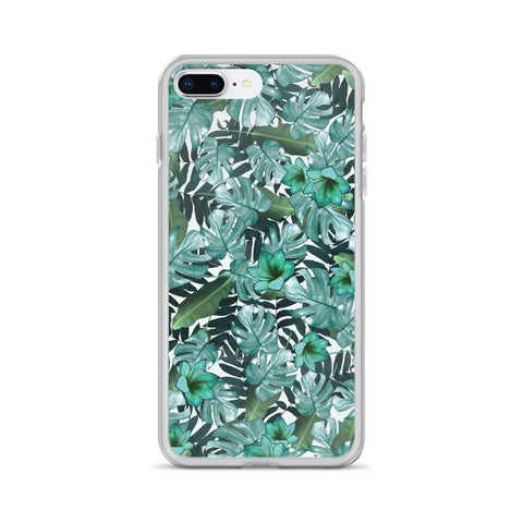 Gigi's Market, LLC iPhone 7 Plus/8 Plus iPhone Case | Green Floral