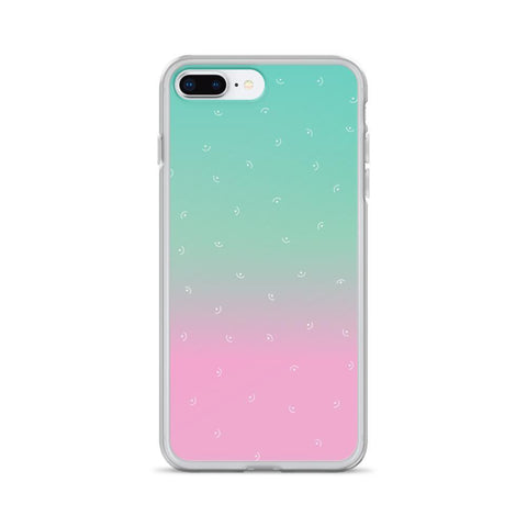 Gigi's Market, LLC iPhone 7 Plus/8 Plus iPhone Case | Mint & Pink