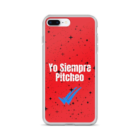 Gigi's Market, LLC iPhone 7 Plus/8 Plus iPhone Case | Yo Siempre Pitcheo