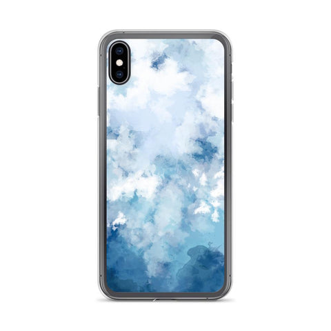 Gigi's Market, LLC iPhone XS Max iPhone Case | Blue Sky & Clouds