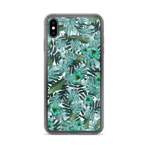 Gigi's Market, LLC iPhone XS Max iPhone Case | Green Floral
