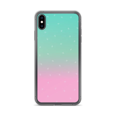 Gigi's Market, LLC iPhone XS Max iPhone Case | Mint & Pink