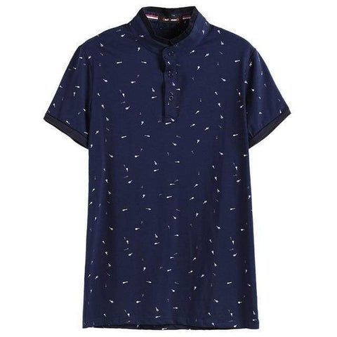 Gigi's Market, LLC navy / M Collar Polo Slim Fit  For Men