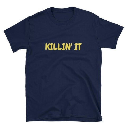 Gigi's Market, LLC Navy / S Killin' It Short-Sleeve Unisex T-Shirt