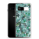 Samsung Case | Green Floral