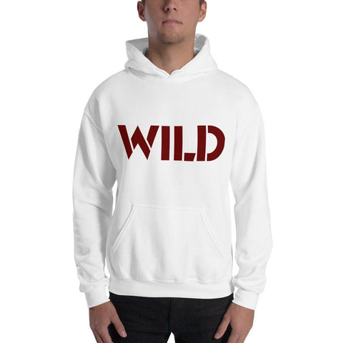 Gigi's Market, LLC White / S WILD Hooded Sweatshirt