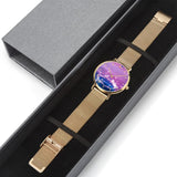 JetPrint Fulfillment Purple Water Drop Watch