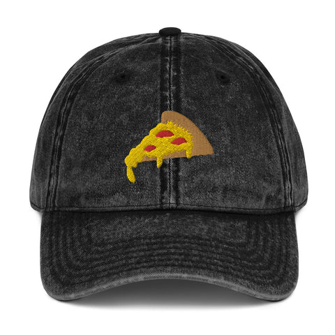 PIZZA - Vintage Cotton Twill Cap