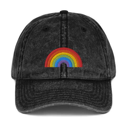 RAINBOW - Vintage Cotton Twill Cap