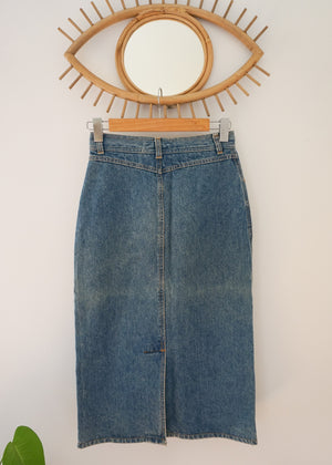 Vintage 70s Denim Skirt